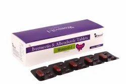 Womvil-I Ivermectin & Albendazole 6mg Tablets