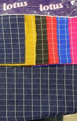 Garment Milan Spandex Check Fabric