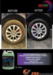 Car Dashboard Tyre Polish