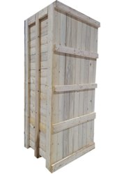 Pine wood Export Wooden Packaging Box, Weight Holding Capacity(Kg): >1000 Kg