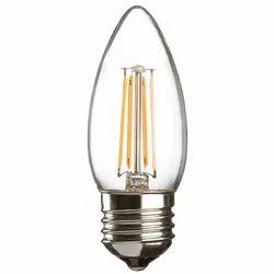 Image Plastic E27 LED Candle Bulb