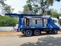 Truck Mounted DTH Drilling Rig With 300 Meters Depth Rig