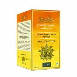 Basil Turmeric Green Tea