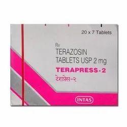 Terapress 2 Mg Tab ( Terazosin Tablets )