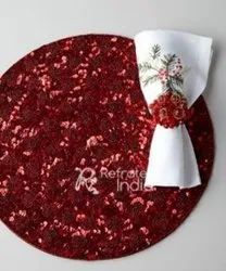 Stylish Red Placemats