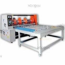 Rotary Cutting, Creasing And Slotting Machine (Rs-4) Chain Feeding