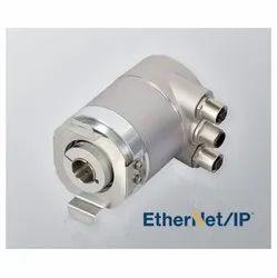 Serie HS10 EtherNet Singleturn Absolute Blind Hollow Shaft Encoder