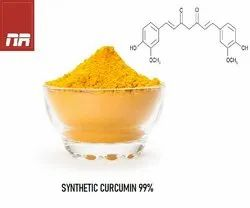 Powder Synthetic Curcumin 99%, For Treatment, Packaging Size: 25 KG