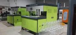 20 Litres Semi Automatic 120 JPH 1 Cavity PET Jar Blow Moulding Machine