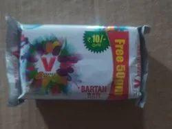 V Brand Bartan Bar, Packaging Size: 200gm, Packaging Type: Tikki