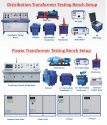 Distribution Transformer Test Setup