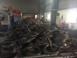 K2 Metals 0.90 MM - 6.00 MM Mild Steel Hard Bright Wire, For Construction