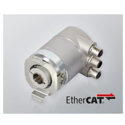 Serie HS10 Ethercat Singleturn Absolute Blind Hollow Shaft Encoder