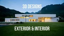3D Designs - Interior, Exterior & Elevations, in Pan India