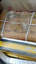Transparent Crystal Water Glass, For Hotel, Capacity: 250ML