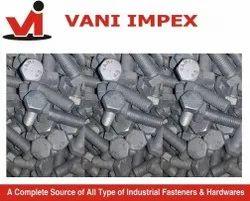 Mild Steel VANI HDG Bolt Grade 4.6, Size: M 8 To M48