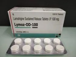 Lamotrigine Sustained Release Tablets i.p 100 mg.