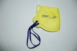 N95 Face Mask Yellow SAFETY NOSE