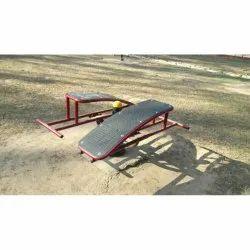 abs crunch bench