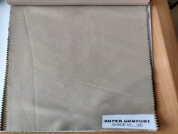 Super Comfort Khaki Fabric