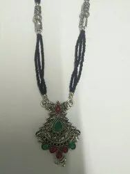 IG Traders Oxide Antique Silver Jewellery, Size: 30inch