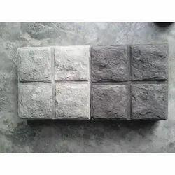 Rock Finish Concrete Paver Block