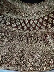 Printed Lehanga Fabric