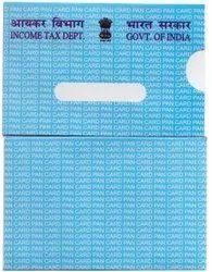 White PAN CARD PAPER POUCH ENVELOPE, Rectangular, Size: 90 X 58 Mm