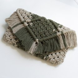 Plain Macrame Hand Bag, Size/Dimension: Medium