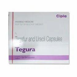 Tegura Tegafur 100mg & Uracil 224mg Capsule