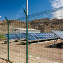 Modular Weldmesh Fencing For Solar Plant