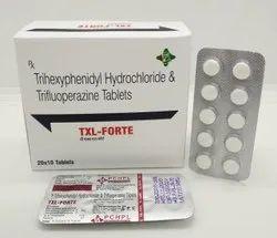 Trihexyphenidyl 2mg  Trifluoperazine Hydrochloride 5mg Tablets