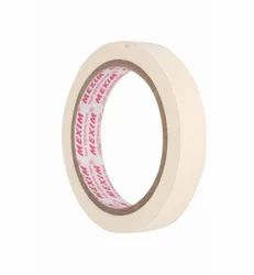 Color: White Crepe Paper Masking Tapes