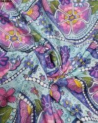 Amazing Faridabad Silk Digital Print Fabric