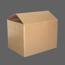 Brown Die-Cut Plain Corrugated Carton Box, Weight Holding Capacity (Kg): >25 kg