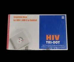 Plastic Tridot HIV Test Kit