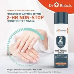 Dr Rhazes 2 Hour Non Stop Ultra Protect Sanitizer Spray Can