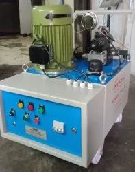Hydraulic tube expanding system