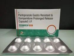 Pantoprazole Sodium and Domperidone Capsules