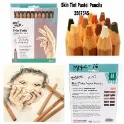 Mont Marte Skin Tint Pastel Pencil, Packaging Type: Box, Packaging Size: 12 Pieces