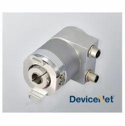 Serie HM10 DeviceNet Multiturn Absolute Blind Hollow Shaft Encoder