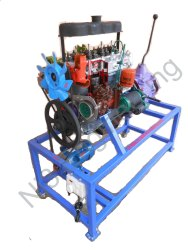 Cut Section Model of Diesel Engine with Gear Box
