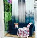 Flower Printed Door Curtain