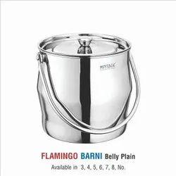Stainless Steel Milk Pot-Flamingo Plain & Laser