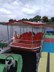 FRP Flat Bottom Boat (21 Seater) Only Boat