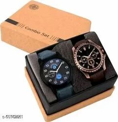 Not Analog Watches For Man's Pack Of 2