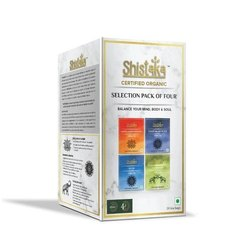 Shistaka Organic Green and herbal  Tea