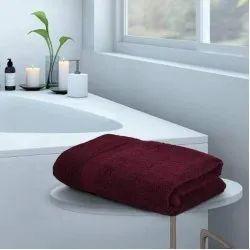 Femesta Cotton Plain Bathroom Towel, Size: 30 X 60 Inches
