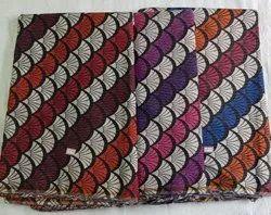 Cotton Fancy Printed Fabric, Block Print, Multicolour