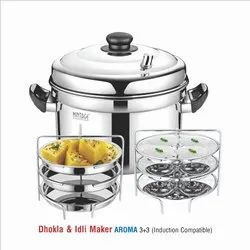 Stainless Steel Idli and Dhokla maker